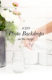 4 diy photo backdrops on the cheap elah tree