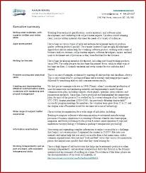 executive summary resume exles qualifications summary for resume executive summary resume exle