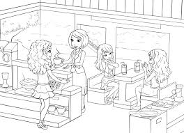 lego friends coloring pages image gallery lego friends coloring