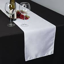 table runner x 108 in shantung silk table runner