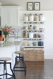 kitchen display ideas my summer home tour 2015 farmhouse kitchens display and storage