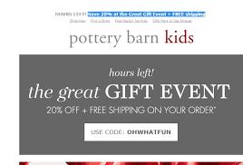 Pottery Barn Kids Promotion Code Pottery Barn Coupon 15 Percent Off Buffalo Wagon Albany Ny Coupon