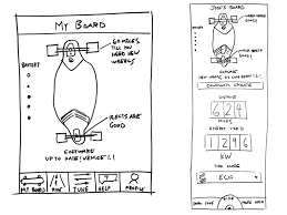 boosted boards app sketch by steph bain dribbble