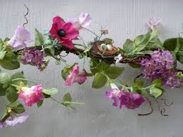 23 best faux garland images on garlands ferns and