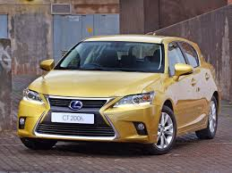 lexus ct200h vs toyota auris top five hybrid cars in south africa for 2014 cars co za