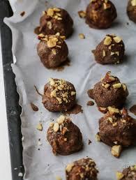 thanksgiving truffles almond joy truffles