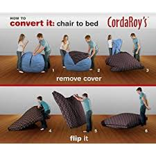 amazon black friday bean bag amazon com cordaroy u0027s chenille bean bag chair charcoal full