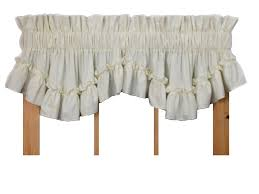 White Ruffled Curtains by Stephanie Ruffled Curtains Collection Window Toppers