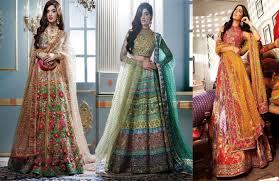 bridal collection 50 best nomi ansari s bridal dresses collection 2017 2018