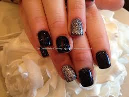 7 black acrylic nails designs black nail art designs acrylic nail