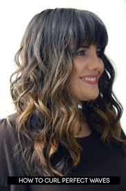 frosting hair how to curl perfect waves best friends for frosting