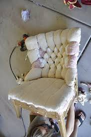 Reupholster Armchair Tutorial Pink Chair Is Almost Finished Tutorials Upholstery And Store