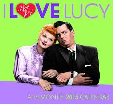 2015 i love lucy fun shape calendar lucystore com