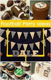 football party decorations 20 football party ideas you will spaceships and laser beams