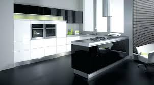 white kitchen cabinets with black island black gloss kitchen cabinet u2013 sequimsewingcenter com