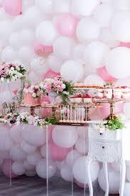 Table Centerpieces Ideas Baby Shower Ballon Zamp Co