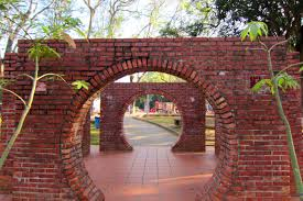 other archway park red brick wall tree high quality wallpaper for
