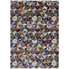 5x8 Area Rugs Modway Arisa Geometric Hexagon Mosaic 5x8 Area Rug R 1092a 58
