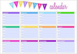 free downloadable calendar template birthday calendar 43 calendar template free premium templates