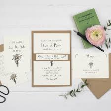 postcard wedding invitatio yaseen