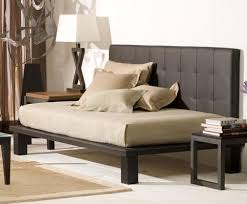 bedrooms contemporary daybed design with black headboard also