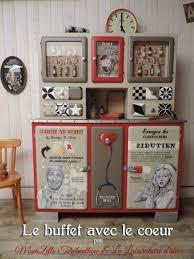 Meuble De Cuisine Vintage by Le Buffet Avec Le Coeur Rue Le Coeur Et Coeur