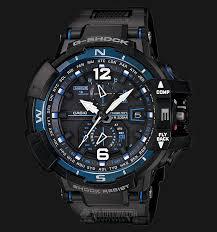 Jam Tangan G Shock Pertama casio g shock gravitymaster gw a1100fc 1ajf black black