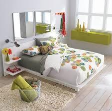 cb2 u0027s andes bed 750 features built in headboard nightstands