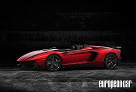 convertible lamborghini red lamborghini aventador j open top web exclusive photo u0026 image gallery