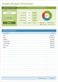 Excel Spreadsheet Budget Template 10 Excel Budget Templates