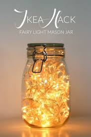 how to make mason jar lights with christmas lights ikea hack fairy light mason jar daydream in blue ikea strikes