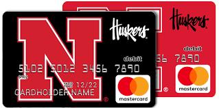 prepaid mastercards nebraska cornhuskers fancard prepaid mastercard