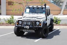 land rover defender convertible for sale 1984 land rover defender 110 quad cab turbo diesel tdi300 stock