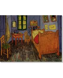 bedroom in arles find the best savings on vincent s bedroom in arles print on wood