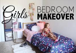 girls bedroom makeover youtube