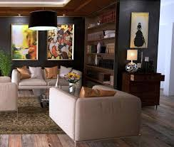 how to place fine art paintings and modern sculpture in your home