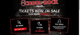 of rock the musical on broadway musicals on line