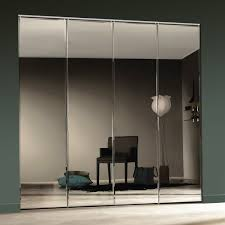 Mirrored Bifold Doors For Closets Getting Excellent Results Of Mirror Closet Doors Closet Ideas