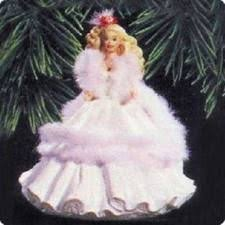 holiday barbie 1st in series hallmark holiday ornament