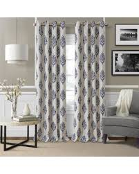 95 Inch Shower Curtain Amazing Deal Elrene Navara Blackout Curtain Panel N A 95
