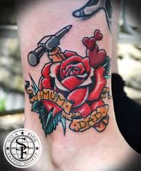70 most attractive mom rose flower tattoos golfian com