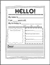 friendly letter writing unit language arts pinterest