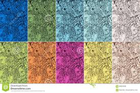 colors spring 2017 palette of trendy colors of spring 2017 in natural textures stock