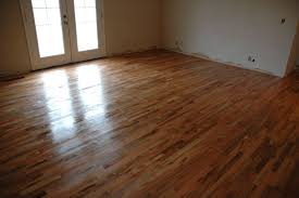 remodelaholic how to finish solid wood flooring step by step