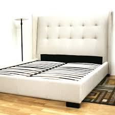 black leather bed frame queen platform canopy coccinelleshow com