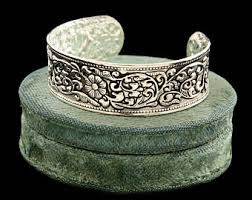 antique sterling silver cuff bracelet images Chinese export cuff etsy jpg