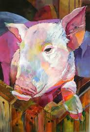 1363 best pigtures pigart pigollectibles images on pinterest