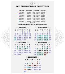2017 opening times warner bros studio tour