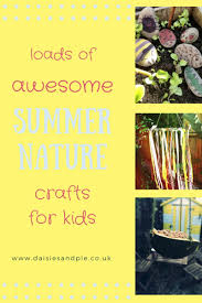 summer nature crafts for kids daisies u0026 pie