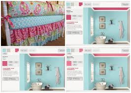 comparing paint colors valspar pink ceiling aqua creations